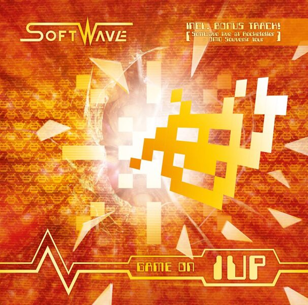 "Softwave - ""Game on 1up"" (Remix Album CD)"